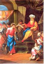 I ESTACIÓN: Jesús es condenado a muerte