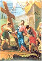 II ESTACIÓN: Jesús con la cruz a cuestas