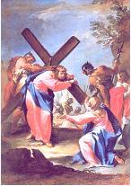 IV ESTACIÓN: Jesús se encuentra con su Madre