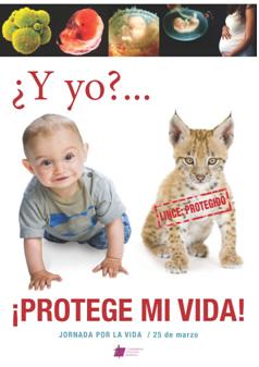 Cartel Campaña a favor de la vida
