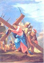 V ESTACIÓN: El Cireneo ayuda a Jesús a llevar la cruz
