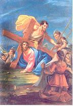 VI ESTACIÓN: La Verónica enjuga el rostro de Jesús