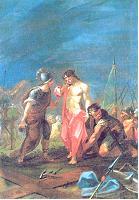 X ESTACIÓN: Jesús es despojado de sus vestiduras