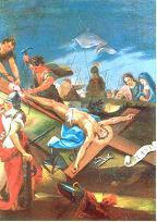 XI ESTACIÓN: Jesús clavado en la cruz
