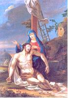 XIII ESTACIÓN: Jesús es bajado de la cruz y entregado a su Madre