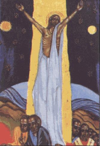 Jesús resucitado envía a los discípulos