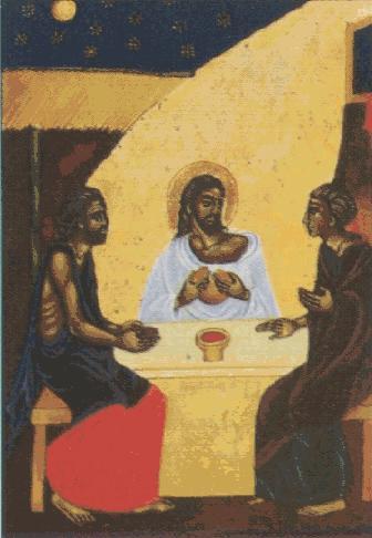 Reconocen a Jesús resucitado al partir el pan