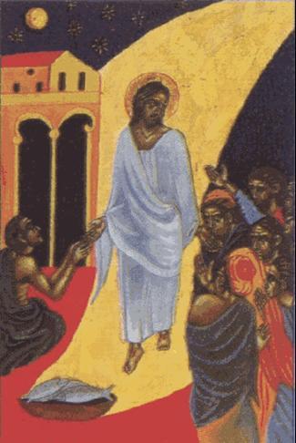 Jesús resucitado se aparece a los discípulos en Jerusalén