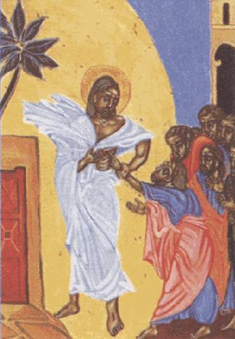 Jesús resucitado refuerza la fe de Tomás