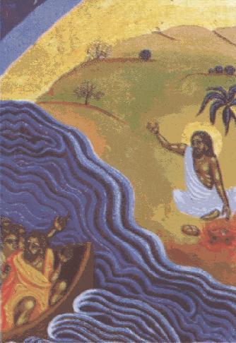 Jesús se aparece en el mar de Tiberíades