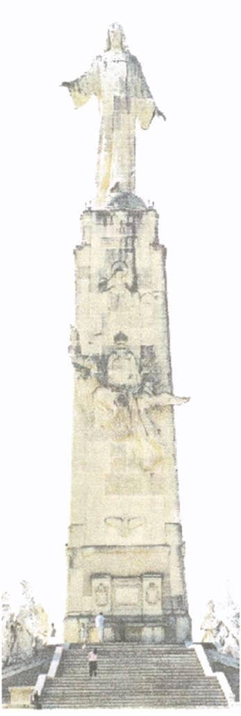 Monumento al Sagrado Corazón de Jesús, Getafe (Madrid)