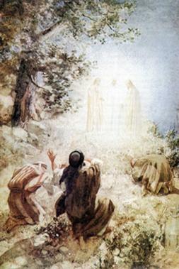 Cuarto Misterio Luminoso: La Transfiguración