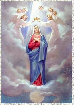 Quinto Misterio Glorioso: La coronación de María como Reina y Señora de todo lo creado