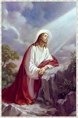 Primer Misterio Doloroso: La oración en el Huerto