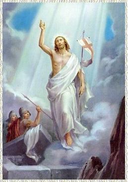 Primer Misterio Glorioso: La resurrección del Hijo de Dios