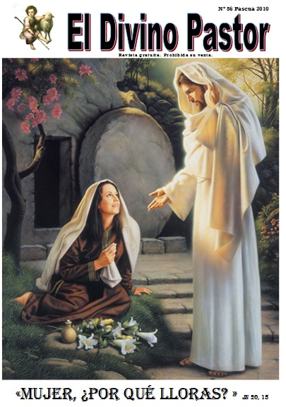 Portada revista Divino Pastor nº 56 Pascua 2010