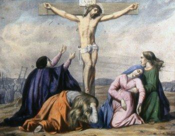 12 estacion Jesús muere en la cruz