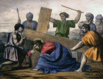 7 estacion Jesús cae por segunda vez